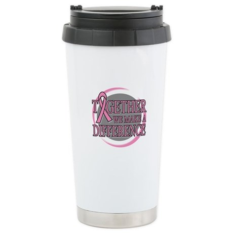 Breast Cancer Support Ceramic Travel Mug