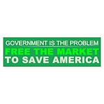 Free The Market Sticker (Bumper 10 pk)