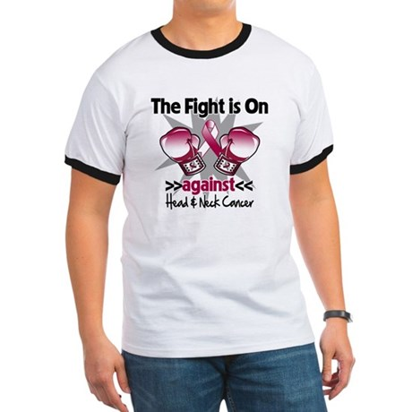 Fight Head Neck Cancer Ringer T