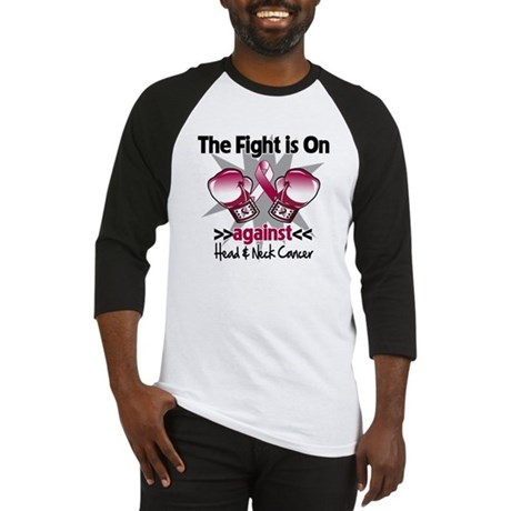 Fight Head Neck Cancer Baseball Jersey