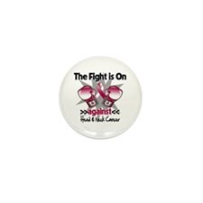 Fight Head Neck Cancer Mini Button (10 pack)