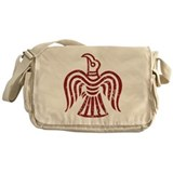 Red Raven Messenger Bag