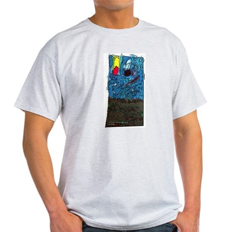 Two Asteroids Light T-Shirt