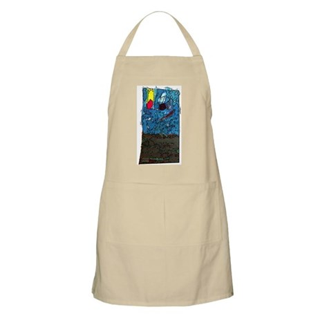 Two Asteroids BBQ Apron