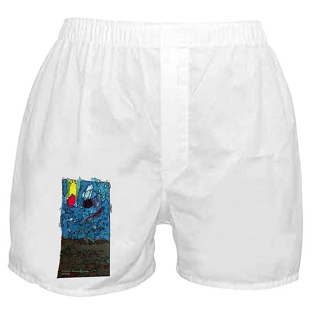 Two Asteroids Boxer Shorts