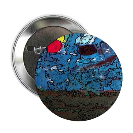 "Two Asteroids 2.25"" Button (100 pack)"
