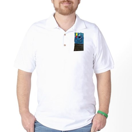 Two Asteroids Golf Shirt