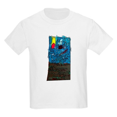Two Asteroids Kids T-Shirt