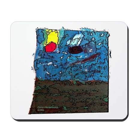 Two Asteroids Mousepad