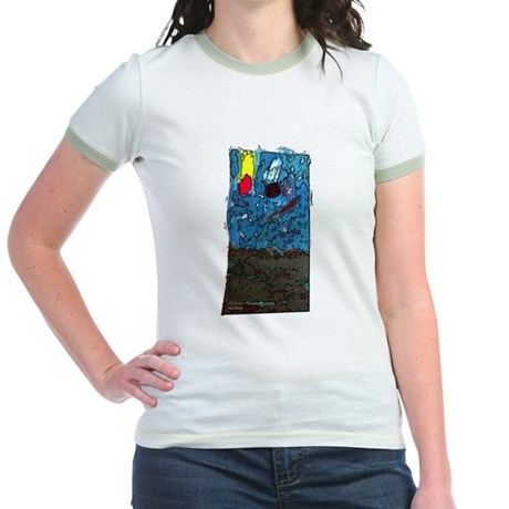 Two Asteroids Jr. Ringer T-Shirt