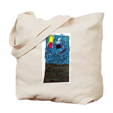 Two Asteroids Tote Bag