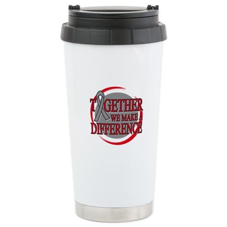 Brain Cancer Support Ceramic Travel Mug
