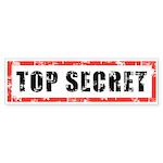 Top Secret Sticker (Bumper 10 pk)