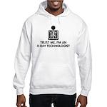 Trust Me I'm An X-Ray Technologist Hooded Sweatshi