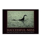 Cute Loch ness monster Postcards (Package of 8)