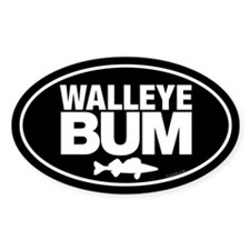 Unique Walleye fish Decal
