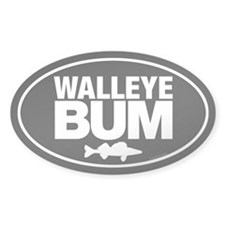 Cute Walleye fishing Decal