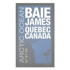 James Bay Quebec Canada Decal