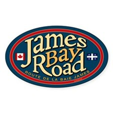 James Bay Road Decal