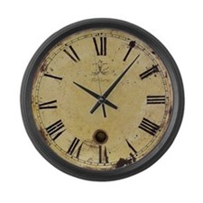 Antique style vintage, Large Wall Clock