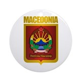 """Macedonian Gold"" Ornament (Round)"