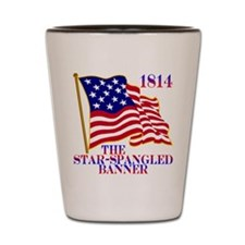 Star-Spangled Banner Shot Glass