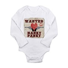 Cute Hilarious valentine Long Sleeve Infant Bodysuit