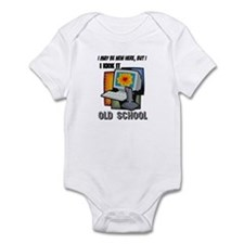 I Kick It Old School Infant Bodysuit