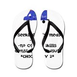 Cute Healthcare Flip Flops