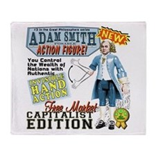 Adam Smith Throw Blanket