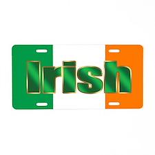 Irish Pride Flag Aluminum License Plate