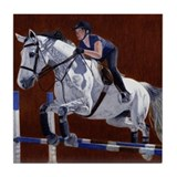 Hunter/Jumper Horse Tile Coaster