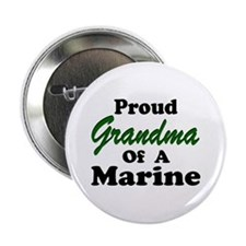 Proud Grandma of a Marine Button