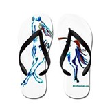 Horse of Many Colors Flip Flops