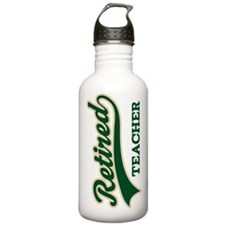 Retired Teacher Gift Water Bottle