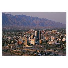 High angle view of a cityscape, Tucson, Arizona