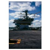 Low angle view of an aircraft carrier, Intrepid Se