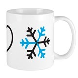 I Love Snow Mug
