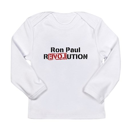 Ron Paul Revolution Long Sleeve Infant T-Shirt