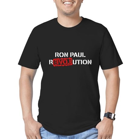 Ron Paul Revolution Mens Fitted Dark T-Shirt
