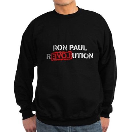 Ron Paul Revolution Dark Sweatshirt