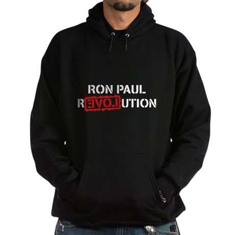 Ron Paul Revolution Dark Hoodie