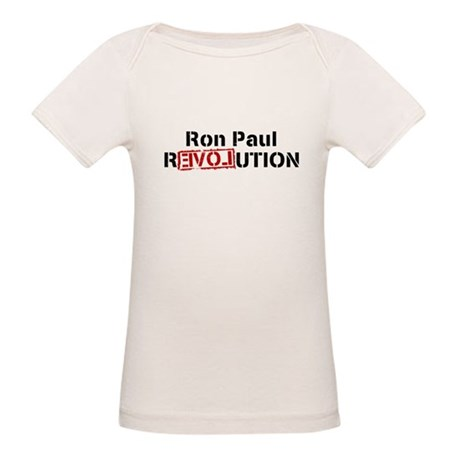 Ron Paul Revolution Organic Baby T-Shirt