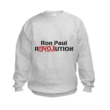 Ron Paul Revolution Kids Sweatshirt