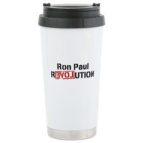 Ron Paul Revolution Ceramic Travel Mug