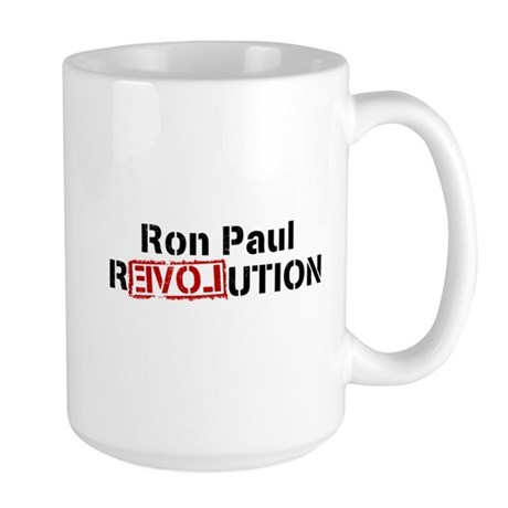 Ron Paul Revolution Large Mug