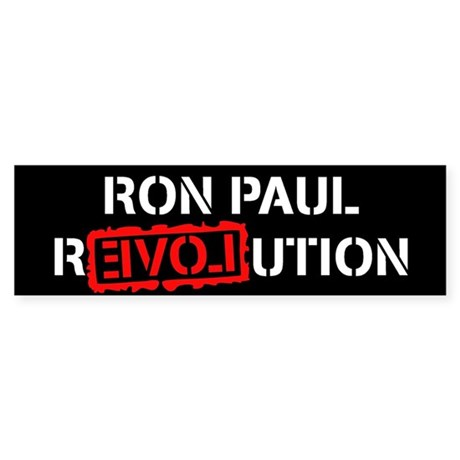 Ron Paul Revolution Sticker (Bumper 50 pk)