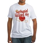 Nathaniel Lassoed My Heart Fitted T-Shirt