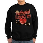 Nathaniel Lassoed My Heart Sweatshirt (dark)