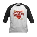 Nathaniel Lassoed My Heart Kids Baseball Jersey